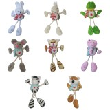 Wholesale - Long-leg Cute Animals Series Pet Plush Toys with Whistle Inside Combination