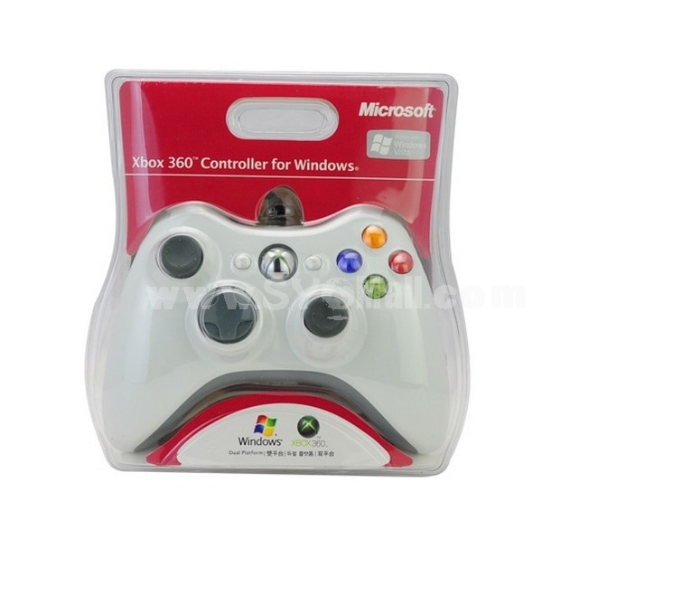 Wire Game XBox 360 Controller for Windows – White