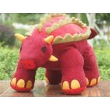 "Wholesale - Cartoon Dinosaur Plush Toy - Ankylosaurus 46cm/18.1"" Tall"