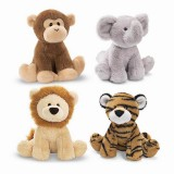 "Wholesale - Sound Stimulating Plush Toy Sound Toy Lion/Tiger 10cm/3.9"" Tall"