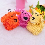 Wholesale - Squeaking Mop Plush Dog Toy Dog Chewing Toy Pet Toy for Teddy and Small Dogs