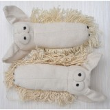 Wholesale - Squeaking Dog Chewing Toy Plush Toy Dog Toy Pet Toy -- Canvas Dog fbg001