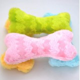 Wholesale - Squeaking Dog Chewing Toy Plush Toy Dog Toy Pet Toy 20cm/7.9inch Plush Bone