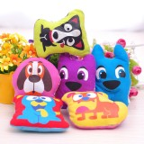 Wholesale - Squeaking Dog Chewing Toy Plush Toy Dog Toy Pet Toy -- Big Eyes Dog