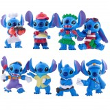"Wholesale - Stitch Lilo & Stitch Action Figure/Garage Kits PVC 6.5cm/2.5"" 8pcs/Kit A"