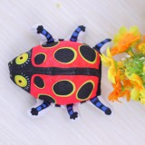 Wholesale - Fat Cat Cat Toy Pet Toy Chewing Toy with Catlip-- Cute Ladybird