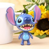Wholesale - Stitch Pulling Doll Action Figure/Garage Kits PVC Bag Chain/Charms