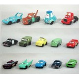 Wholesale - Cars Lightning McQueen Chick Hicks Action Figure/Garage Kits Vinyl Toy 14pcs/Set 0.8""