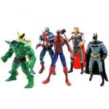 """Wholesale - The Avengers Action Figure/Garage Kits Vinyl Toy 6pcs/Set 15cm/6"""""""