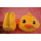 Wholesale - Rubber Yellow Duck B.DUCK Plush Coin Bag