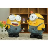 Wholesale - Despicable Me 2 The Minions Garage Kits Resin Money Box Piggy Bank 6.5inch Tall