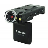 Wholesale - Portable HD Infrared (IR) Digital Video/Voice/Still Car DVR with Rearview Video Camcorderr - Black