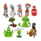 wholesale - 10 x Plants Vs Zombies 2 Wonderful Time Tour of Egypt Mini Figures 10 Pieces with Bloomerang Bonk Choy and Peapod Se