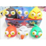 Wholesale - Screaming Angry Birds Trick Toy with Popping Eyeballs 6pcs/Kit