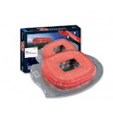 Wholesale - Cute & Novel DIY 3D Jigsaw Puzzle Model Football Stadium Series - Bayern Munich Allianz Stadium