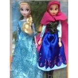 """Wholesale - Frozen Princess Action Figures Figure Doll 33cm/13.0"""" 2pcs/Set"""
