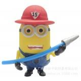 """Wholesale - The Minions DESPICABLE ME 2 3D Eyes Action Figure/Garage Kits PVC Toys 13-17cm/5.1-6.7"""" M003"""