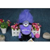 "Wholesale - DESPICABLE ME 2 Plush Toy Evil Minions One Eye 30cm/12"""
