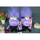 """Wholesale - DESPICABLE ME 2 Plush Toy Evil Minions 2 Pcs One Eye Two Eyes 30cm/12"""""""