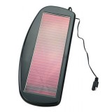 Wholesale -  1.5W 12V Solar Power Vehicular Batter Charger with Alligator/Crocodile Cables