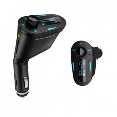 Wholesale - MP3 Player Wireless FM Transmitter Modulator USB SD MMC LCD With Remote, Blue ...