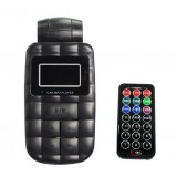Wholesale - Cubed Car MP3 Player with Remote