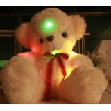 """Wholesale - Red Bowknot Music Bear with Music and Light Effect 60cm/23.6"""""""