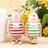 Wholesale - Prison Rabbit Pulling Doll Action Figure/Garage Kits PVC Bag Chain/Charms