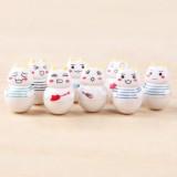 """Wholesale - Inoue Toro Cat Vinyl Garage Kit Toys 8pcs/Kit 1.5"""""""
