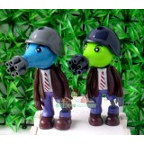 wholesale - Plants vs Zombies Peashooter Zombie ABS Toy Shooting Doll
