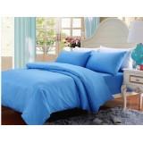 Wholesale - Pure Color Single Bed 3 Pieces Duvet Cover Set Bedding Set