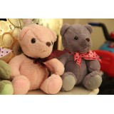 "wholesale - Cute & Novel Ribbon teddy Bear Plush Toy 18cm/7"" 2PCs"