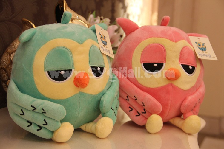 "Cartoon Night Owl Plush Toy 18cm/7"" 2PCs"