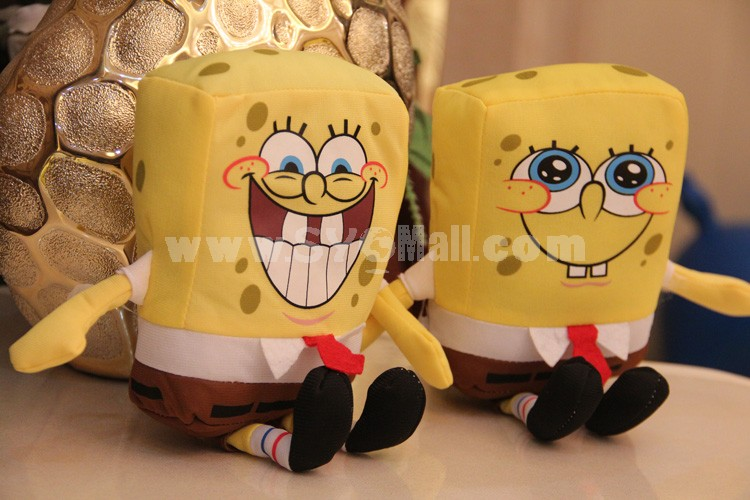"SpongeBob SquarePants Plush Toy 18cm/7"" 2PCs"