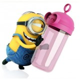 Wholesale - Tne Minions Despicable ME Carl Portable Cup Transparent Leak-proof Cup