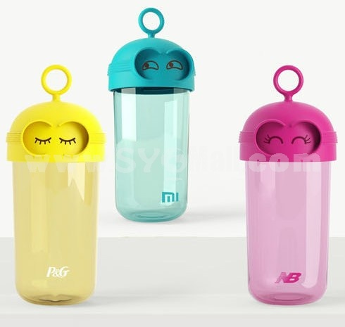 Tne Minions Despicable ME Carl Portable Cup Transparent Leak-proof Cup