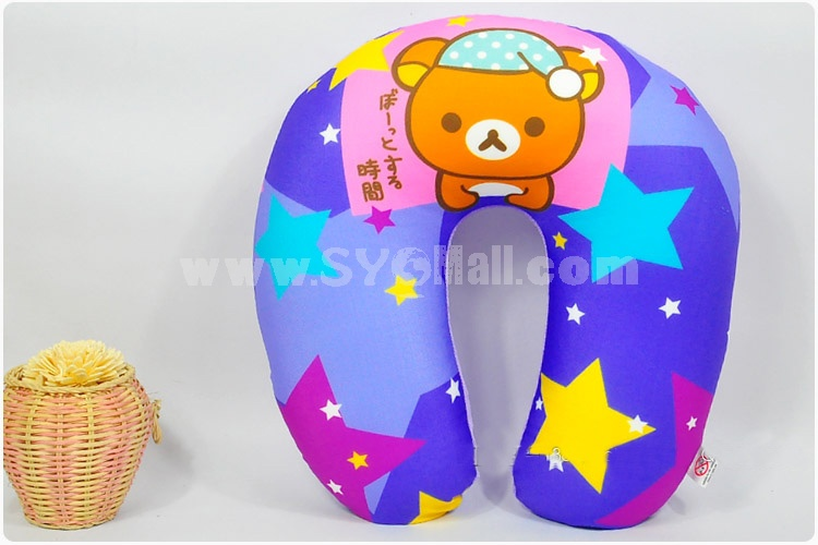 Rilakkuma NM Form Particles U-neck Pillow Travel Pillow 30cm/11.8inch