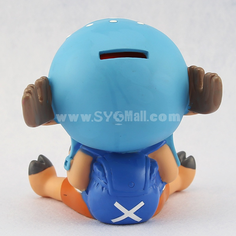One Piece Chopper Piggy Bank Money Box 14cm/5.5inch