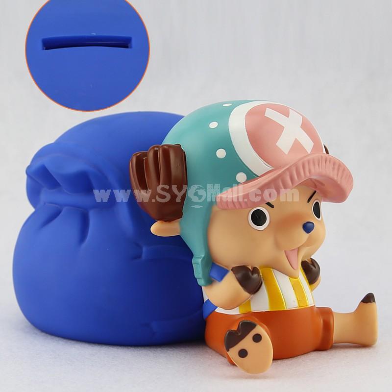 One Piece Chopper Piggy Bank Money Box 12cm/4.7inch