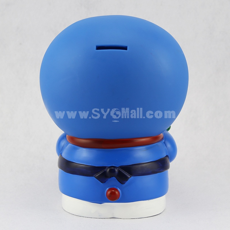 Rose Doraemon Piggy Bank Money Box PVC Model Toys Toy Figure 14cm/5.5inch
