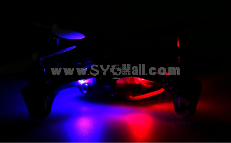 2.4GHz Four-Rotor aircraft 360 Degree Somersault Acrobatics RC UFO with LED Light