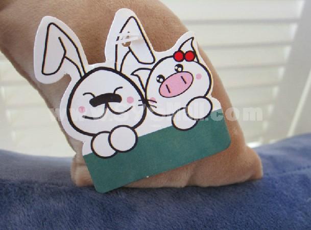 Cute Cartoon Rabbit Body Mechanics Pillow / Plush Toy
