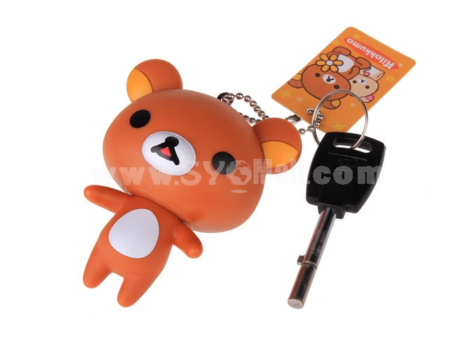 Rilakkuma Vinyl Figure Toy Cellphone Pendant Bag Pendant 2 Pcs/Lot