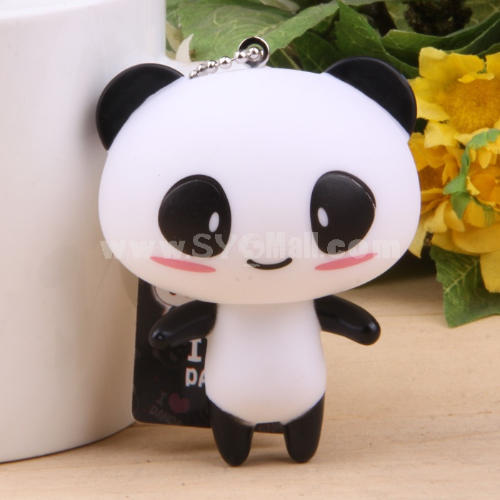 Lovely Panda Vinyl Figure Toy Cellphone Pendant Bag Pendant
