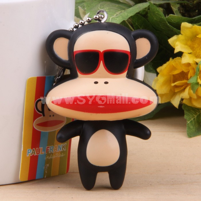 Paul Frank Vinyl Figure Toy Cellphone Pendant Bag Pendant 2 Pcs/Lot