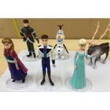 """Wholesale - Frozen Elsa Anna and Olaf Action Figure/Garage Kits PVC Toys MAction Figures 5-6"""" 6pcs/Kit"""