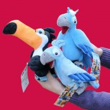 wholesale - RIO Series Plush Toy 3 Pcs Set Rafael Blu Jewel