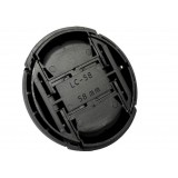 Wholesale - LC-58 Snap-on Front Lens Cap Lens Cover with Cord for Canon