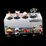 "Wholesale - Doraemon & Nobi Nobita Action Figure Garage Kit 6cm/2.4"" 9pcs/Kit"