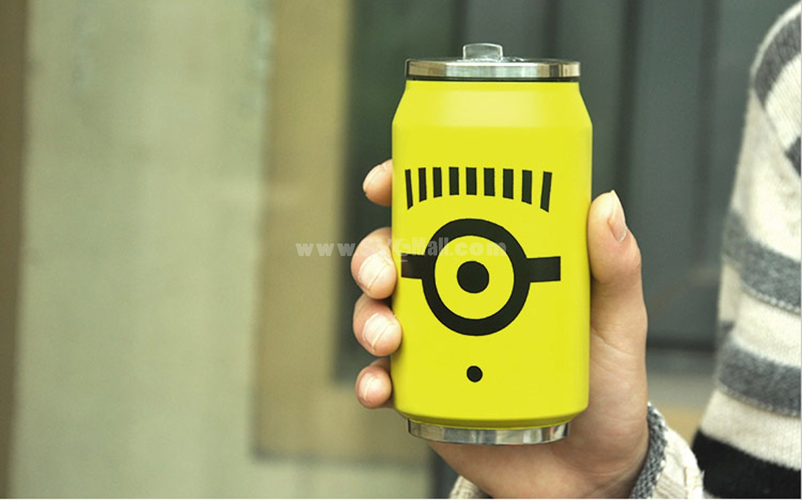 Deipicable Me Minions Stainless Steel Double-layer Thermos Cup Bottle